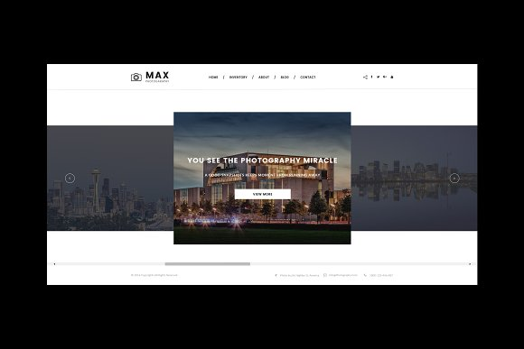 Max Photography HTML Template