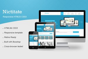 Nictitate – Responsive HTML5