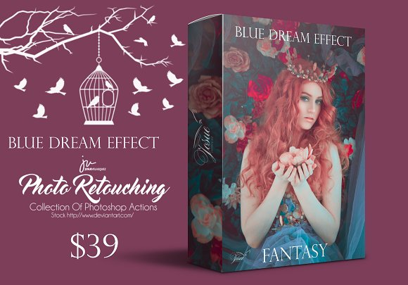 Blue Dream Lightroom Presets
