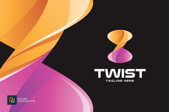 Twist Infinity Logo Template