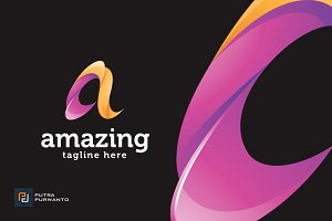 Amazing / Letter A - Logo Template