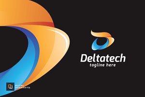Deltatech / Letter D - Logo Template