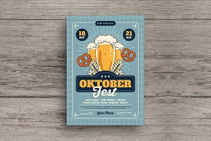 October Fest Flyer