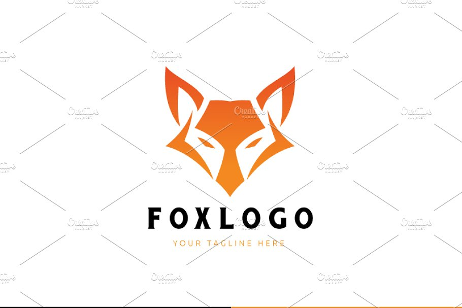 Fox Logo in Logo Templates - product preview 1