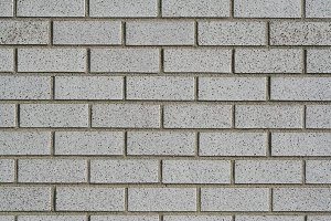 Clean Gray Brick Wall