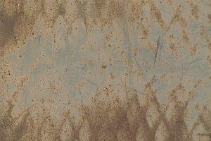 Diamond Pattern on Rusty Metal