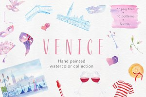 Venice Watercolor collection