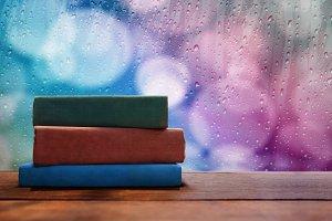 Reading on Rainy Day