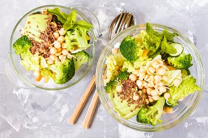 Green healthy salad