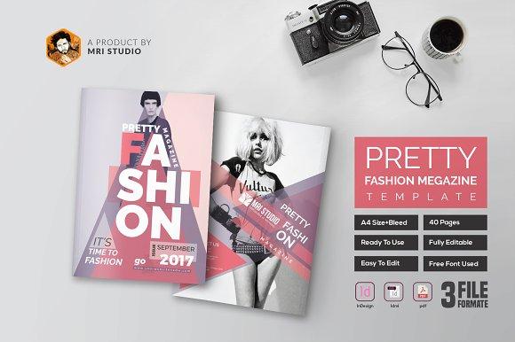 PRETTY Fashion Magazine Template