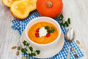 Pumpkun soup