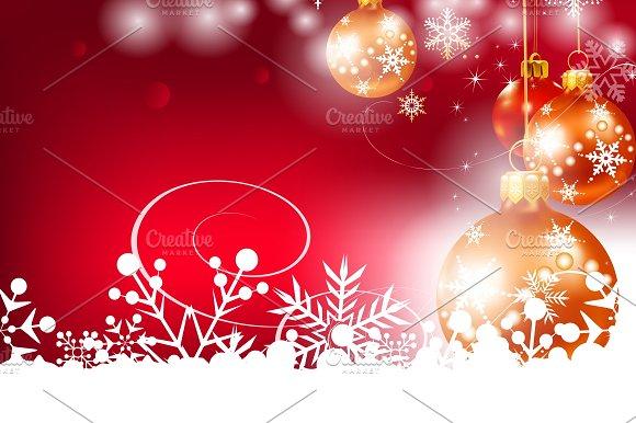 Christmas Background Christmas Card