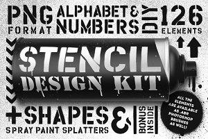 Stencil design kit