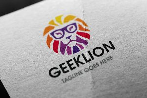 Geek Lion Logo