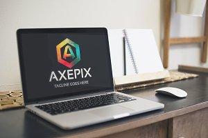 Axepix (Letter A) Logo