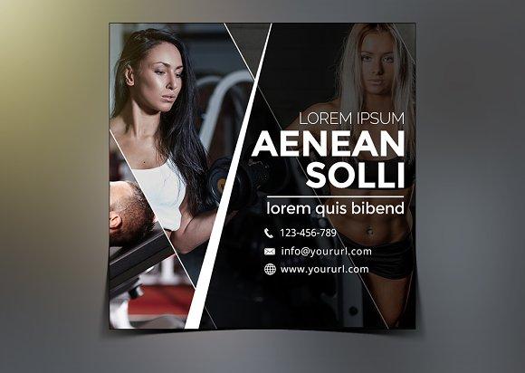 Gym Instagram Banner