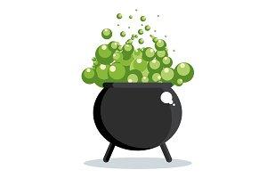black witch cauldron