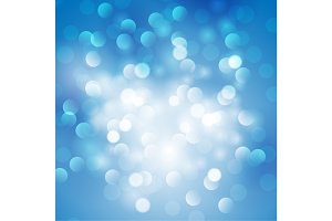 Christmas abstract blue background