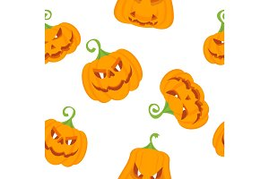 pattern color pumpkins