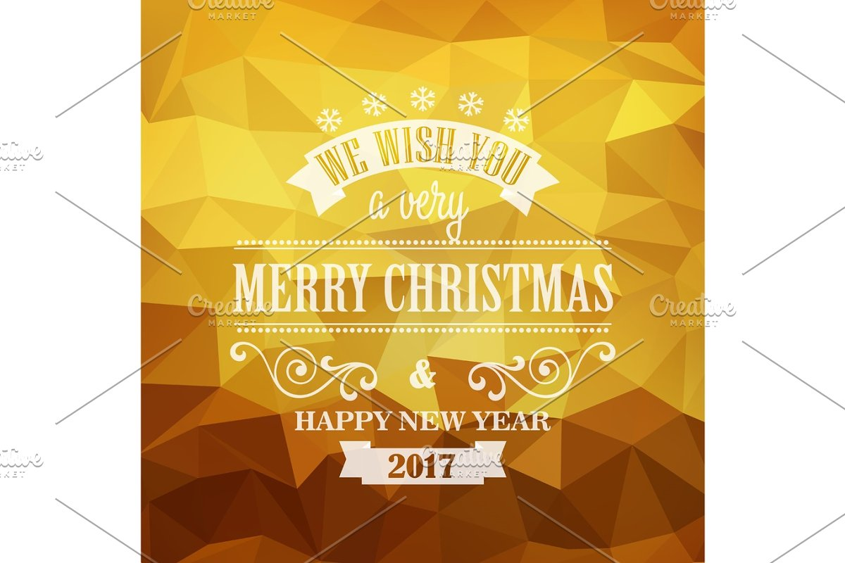 Typographic Retro Christmas Design in Illustrations - product preview 8