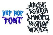 hip hop font
