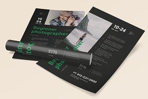 Beginner Photographer Poster