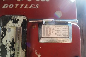 Coca Cola Vintage vending Machine