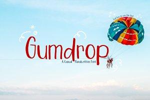 Gumdrop | Handwritten font
