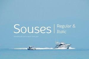 Souses—Regular & Italic