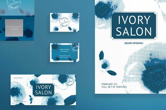 Print Pack Ivory Salon