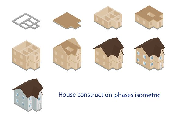 House Construction Phases