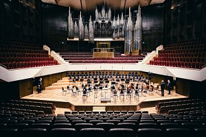 Classical Music Concert Hall Stage