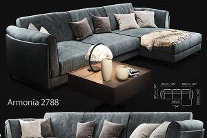 Sofa Natuzzi Armonia 2788