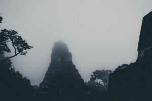 Dark Mayan Pyramid