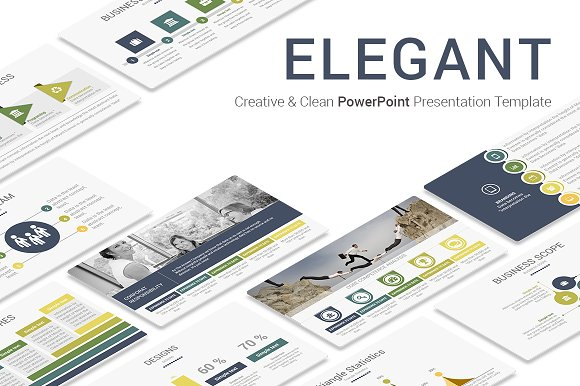 elegant powerpoint template presentation templates creative market