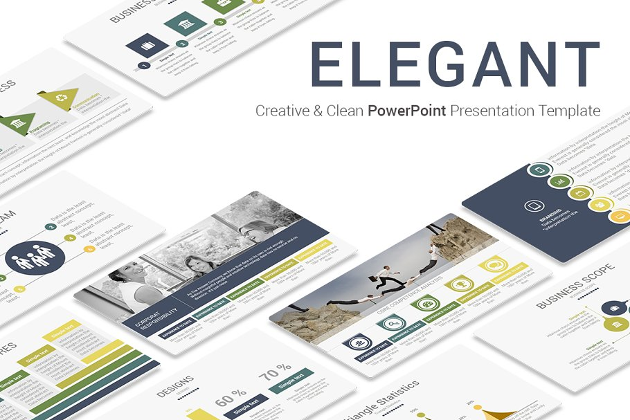 Elegant Powerpoint Template Powerpoint Templates
