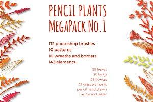 PENCIL AUTUMN MegaPack No.1