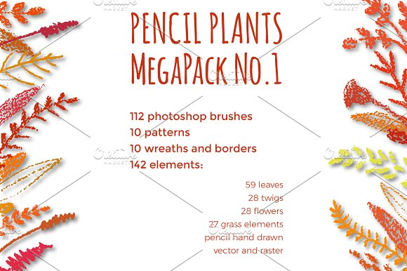 PENCIL AUTUMN MegaPack No.1