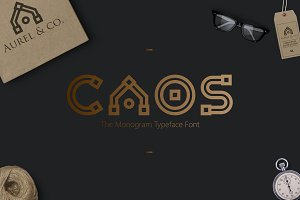 CAOS | The Logo Typeface