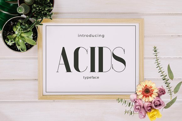 Acids Typeface
