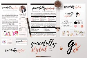 Fashion & Lifestyle Blog Brand Pack