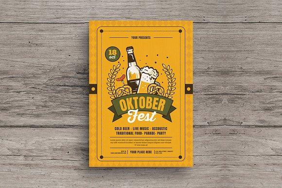 October Festival Flyer