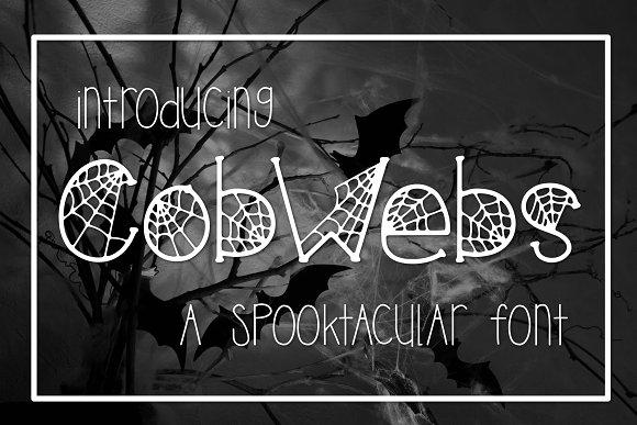 Cobwebs A Spooktacular Font