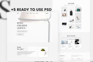 STWO-Creative Agency PSD Template