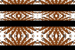 Ethnic Graphic Stripes Seamless Pattern