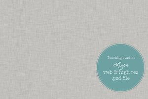 Linen PSD web tile & high res paper