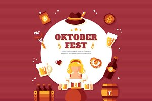 October Fest Background