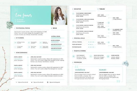 Resume CV Eva