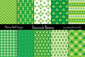 St. Patrick's Day Shamrock Patterns