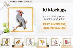 Etsy & Instagram Print Mockup